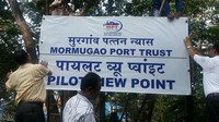Pilot Point - Mormugao Port Trust