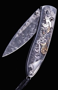 Monarch Steampunk Dragon Knife – Price: $18,500