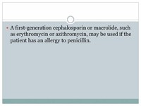 Macrolides Such as Erythromycin (E