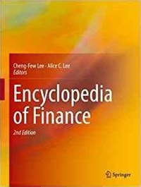 Encyclopedia ​of Finance​