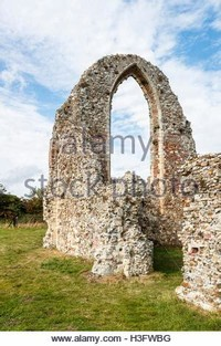 Remains of St Michaels 14th Century Church