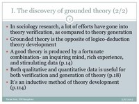 The Discovery ​of Grounded Theory​
