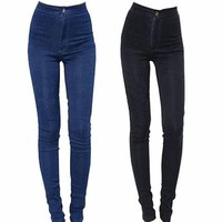 High Rise Jeans for Girls:
