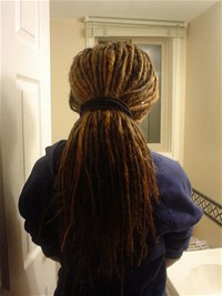 Dreadlock Ponytail Image: Getty