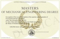 Mechanical Engineering Degrees