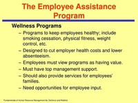 Employee Assistance Plan Managers