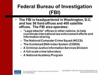 Federal ​Bureau of Investigation​