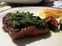 Spicy Chimichurri Ready in