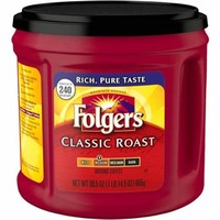 Folgers Classic Roast Coffee & Maxwell House Original Coffee