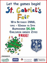 St. Gabriels Anual Carnival Fair Grounds