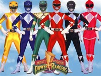 1 Mighty Morphin Power Rangers