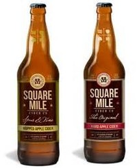 ** Square Mile Hard Cider Beer Review **