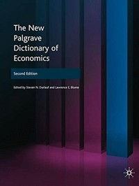 The New ​Palgrave Dictionary of Economics​