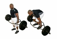 Hex or Trap Bar Deadlifts