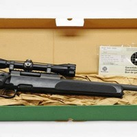 #40. 1969. Steyr SSG 69. Bolt-Action Sniper Rifle. ...