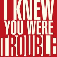 I Knew You ​Were Trouble​