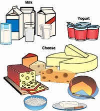 Dairy Products (fat-Free or low-fat Milk, Yogurt, Cheese)