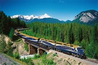 The Rocky Mountaineer: Banff to Vancouver