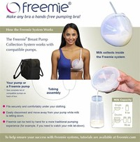 Freemie Freedom Hands Free Breast Pump [3]