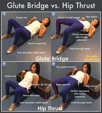 Hip Extension (Glute Bridges/Hip Thrusts)