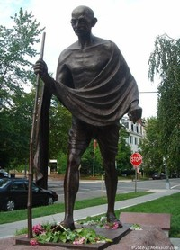 Statue Of National Father Mahatma Gandhi