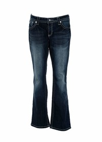 Ladies Jeans Bootcut Style:
