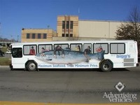 Transit Advertising and Wraps