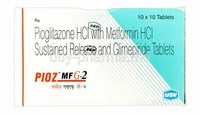 Pioglitazone and Metformin