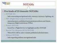 Pointer NOTAM