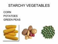 Starchy Vegetables Potatoes and Corn