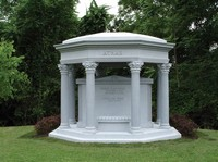 Above Ground Burial in a Private Mausoleum