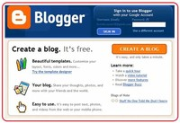 Enter a Display Name and Click Continue to Blogger