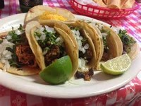 Tacos Prepared With a Carnitas Filling