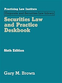Corporate and Securities Law