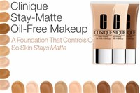 Clinique Stay-Matte Oil-Free Make-Up, £25