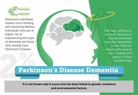 Dementia From Parkinson's Disease and Similar Disorders