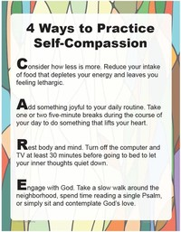 STEP 6: PRACTICE SELF-COMPASSION