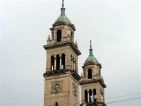 Pilsen Church Tower & Town Square