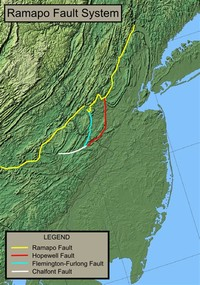 The Ramapo Seismic Zone