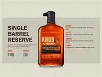 Knob Creek Single Barrel Reserve 9 YO