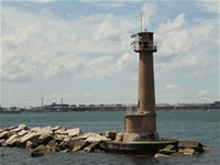 Buffington Harbor Breakwater Lighthouse