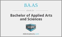 Bachelor of Applied Arts and Science (BAAS)