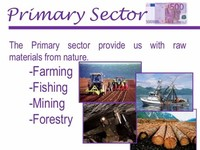 Farming, Fishing and Forestry