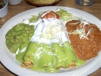 Flautas With Guacamole