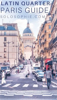 Latin Quarter, Paris