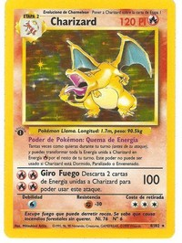 #6 Charizard First Edition