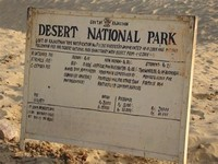Desert ​National Park​