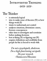 INTP - The Thinker