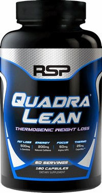 5: RSP Nutrition Quadralean Thermogenic