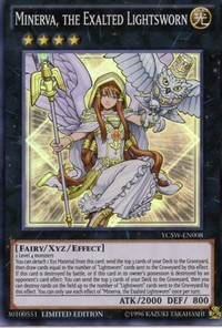 Minerva, The Exalted Lightsworn – $1,900
